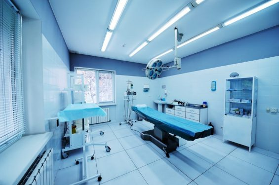 beautiful interior of a surgical operating